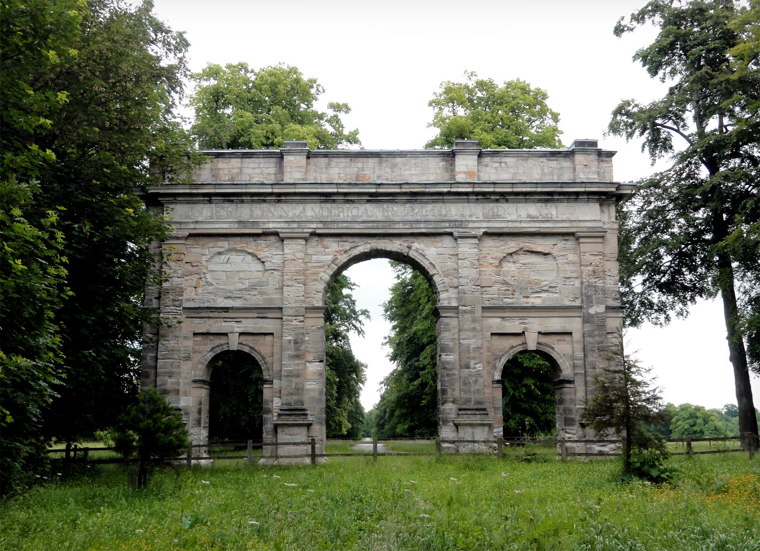 Triumphal Arch at the Parlington Estate